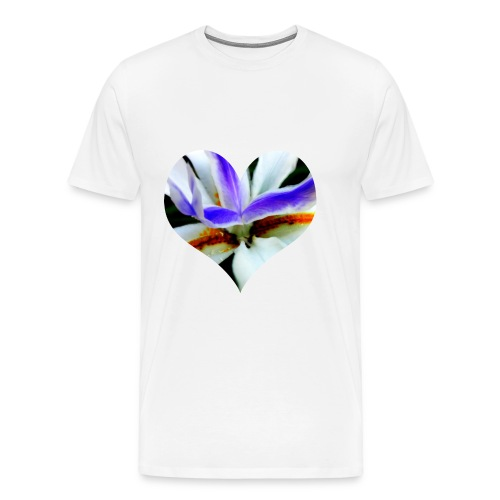 I [heart] Flowers - Men's Premium T-Shirt