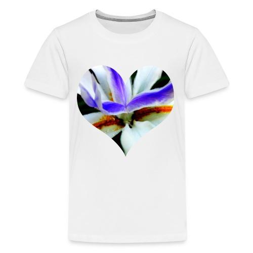 I [heart] Flowers - Kids' Premium T-Shirt