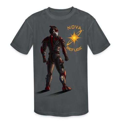 Sunset-Scorpion (Nova Refuge) Men's T-Shirt - Kid's Moisture Wicking Performance T-Shirt