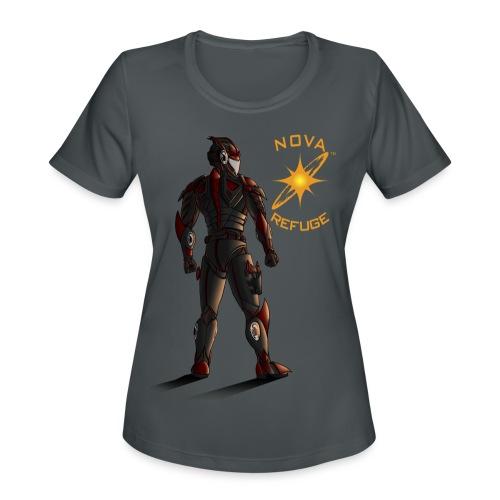 Sunset-Scorpion (Nova Refuge) Men's T-Shirt - Women's Moisture Wicking Performance T-Shirt