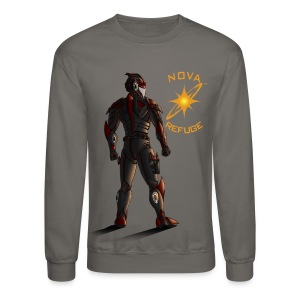 Sunset-Scorpion (Nova Refuge) Men's T-Shirt - Crewneck Sweatshirt
