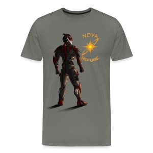 Sunset-Scorpion (Nova Refuge) Men's T-Shirt - Men's Premium T-Shirt