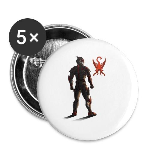 Sunset-Scorpion (SSL) Men's T-Shirt - Small Buttons