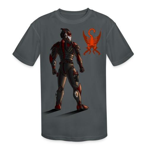 Sunset-Scorpion (SSL) Men's T-Shirt - Kid's Moisture Wicking Performance T-Shirt