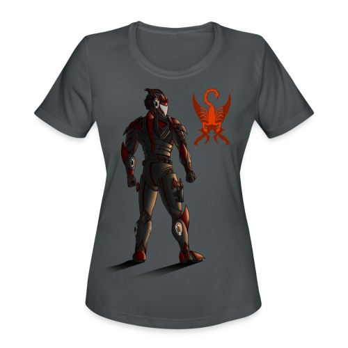 Sunset-Scorpion (SSL) Men's T-Shirt - Women's Moisture Wicking Performance T-Shirt