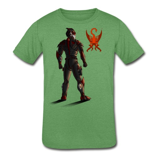 Sunset-Scorpion (SSL) Men's T-Shirt - Kid's Tri-Blend T-Shirt