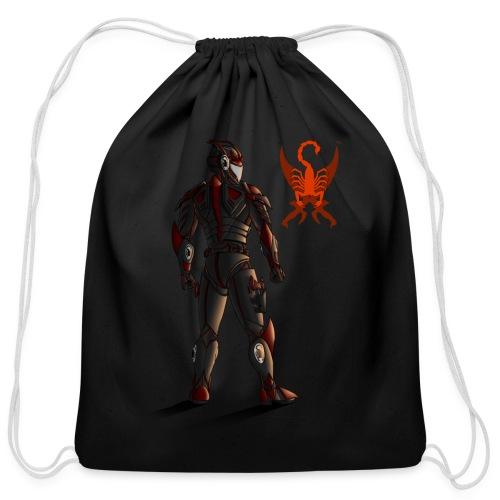 Sunset-Scorpion (SSL) Men's T-Shirt - Cotton Drawstring Bag
