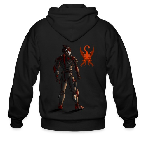 Sunset-Scorpion (SSL) Men's T-Shirt - Men's Zip Hoodie