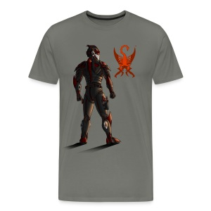 Sunset-Scorpion (SSL) Men's T-Shirt - Men's Premium T-Shirt