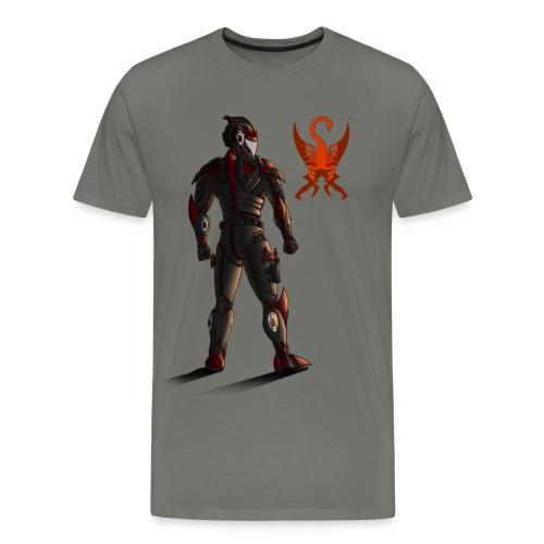 Sunset-Scorpion (SSL) Men's T-Shirt - Men's Premium T-Shirt
