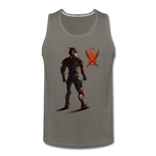 Sunset-Scorpion (SSL) Men's T-Shirt - Men's Premium Tank