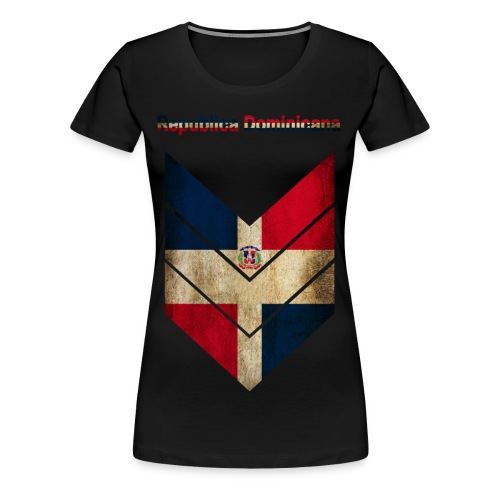 Republica Dominicana - Women's Premium T-Shirt