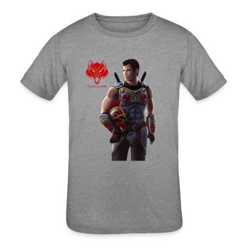 Wulfgard: Knightfall Cover Art Mousepad - Kid's Tri-Blend T-Shirt