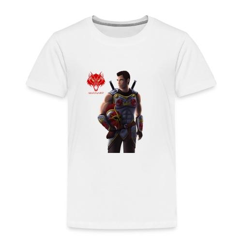Wulfgard: Knightfall Cover Art Mousepad - Toddler Premium T-Shirt