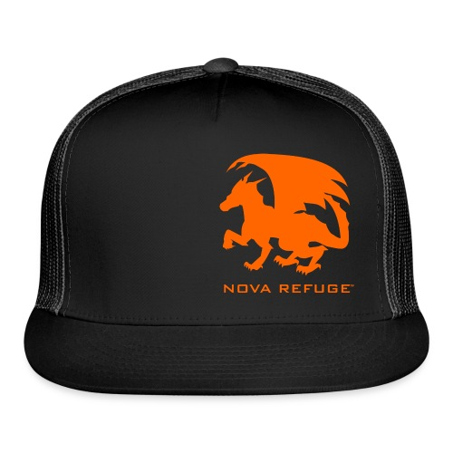 Nova Refuge Zygbar Badge Men's T-Shirt - Trucker Cap