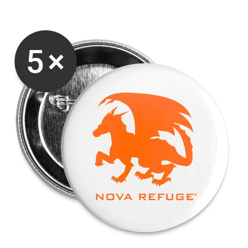 Nova Refuge Zygbar Badge Men's T-Shirt - Large Buttons