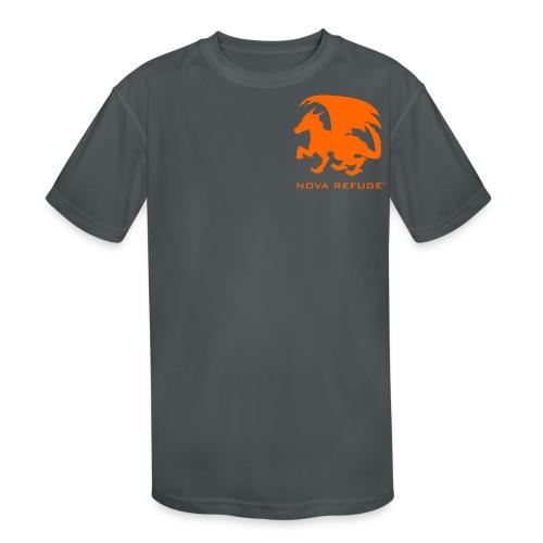 Nova Refuge Zygbar Badge Men's T-Shirt - Kid's Moisture Wicking Performance T-Shirt