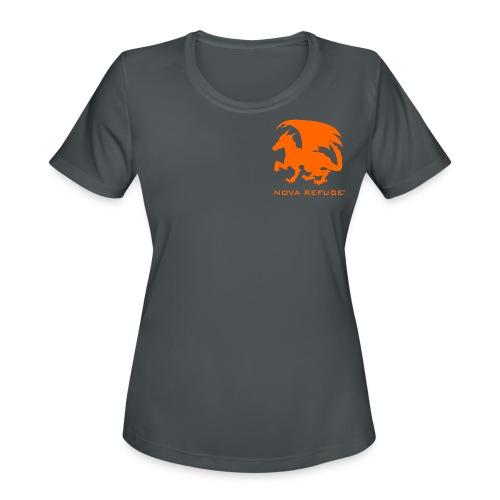 Nova Refuge Zygbar Badge Men's T-Shirt - Women's Moisture Wicking Performance T-Shirt