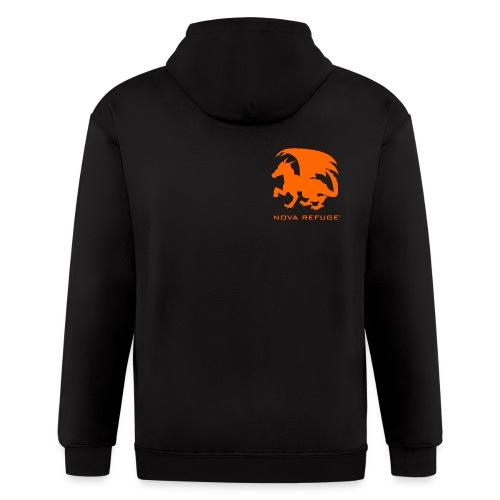 Nova Refuge Zygbar Badge Men's T-Shirt - Men's Zip Hoodie