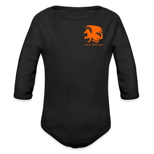 Nova Refuge Zygbar Badge Men's T-Shirt - Organic Long Sleeve Baby Bodysuit