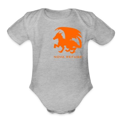 Nova Refuge Zygbar Badge Men's T-Shirt - Organic Short Sleeve Baby Bodysuit