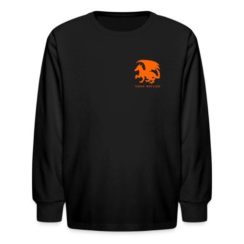 Nova Refuge Zygbar Badge Men's T-Shirt - Kids' Long Sleeve T-Shirt