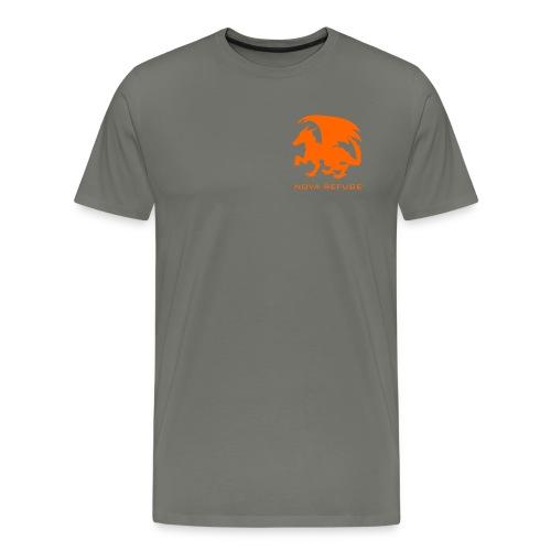 Nova Refuge Zygbar Badge Men's T-Shirt - Men's Premium T-Shirt