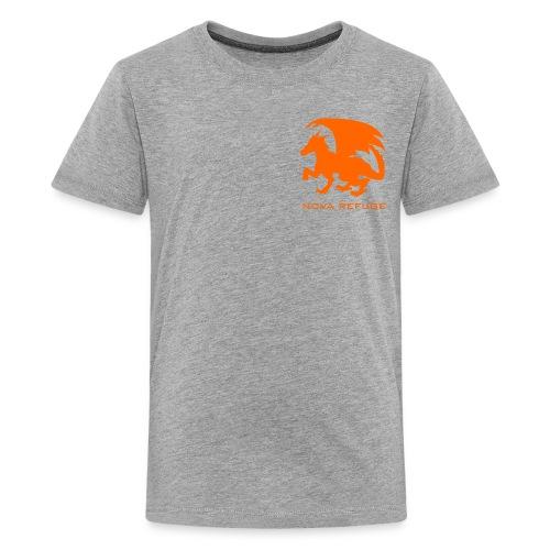 Nova Refuge Zygbar Badge Men's T-Shirt - Kids' Premium T-Shirt