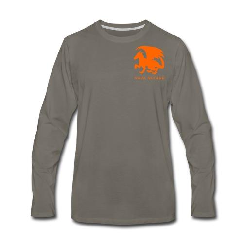 Nova Refuge Zygbar Badge Men's T-Shirt - Men's Premium Long Sleeve T-Shirt