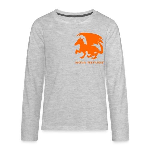 Nova Refuge Zygbar Badge Men's T-Shirt - Kids' Premium Long Sleeve T-Shirt