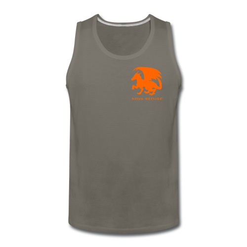 Nova Refuge Zygbar Badge Men's T-Shirt - Men's Premium Tank