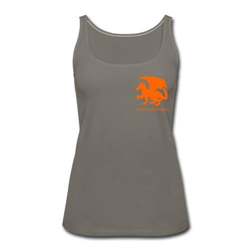 Nova Refuge Zygbar Badge Men's T-Shirt - Women's Premium Tank Top