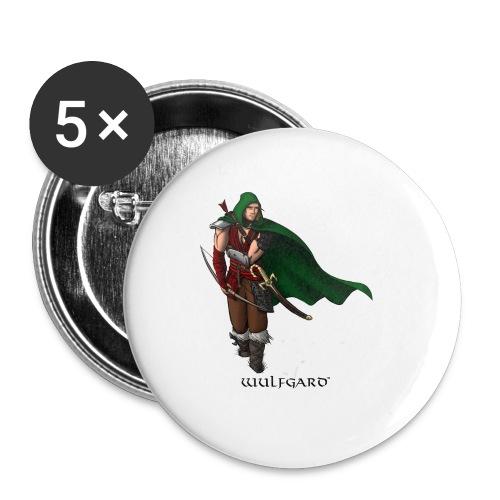 Wulfgard Wanderer Men's T-Shirt - Large Buttons