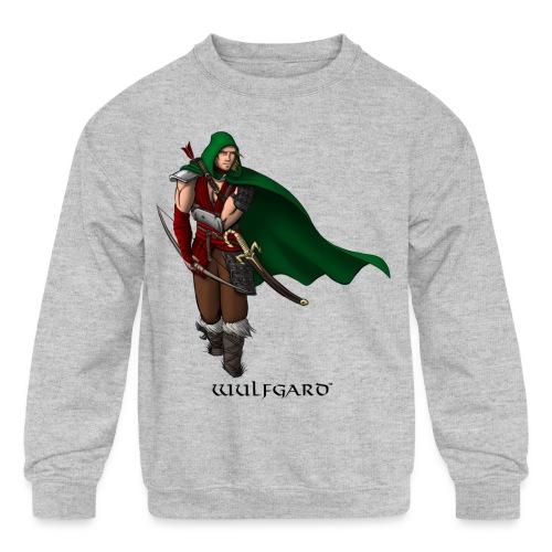 Wulfgard Wanderer Men's T-Shirt - Kid's Crewneck Sweatshirt