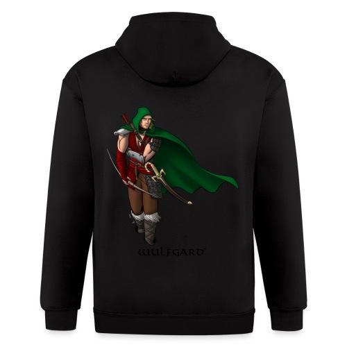 Wulfgard Wanderer Men's T-Shirt - Men's Zip Hoodie