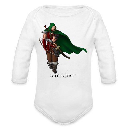 Wulfgard Wanderer Men's T-Shirt - Organic Long Sleeve Baby Bodysuit