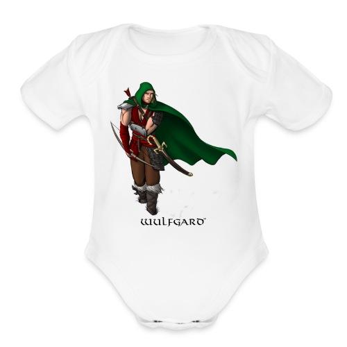 Wulfgard Wanderer Men's T-Shirt - Organic Short Sleeve Baby Bodysuit