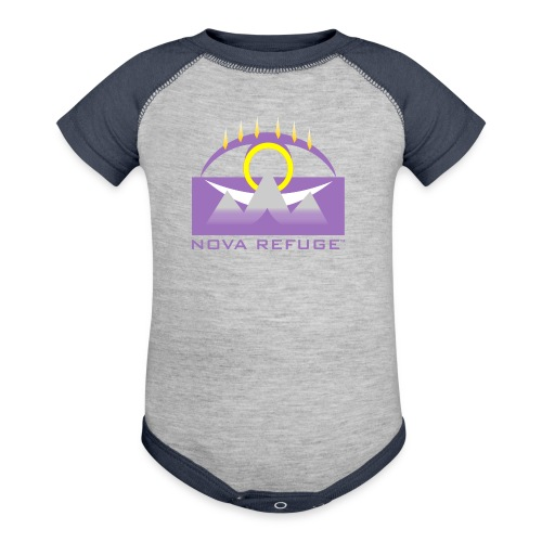 Nova Refuge Yavakaro Badge Men's T-Shirt - Baby Contrast One Piece