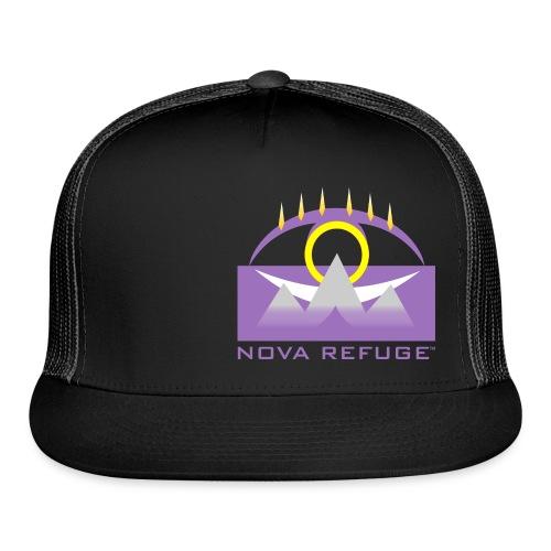 Nova Refuge Yavakaro Badge Men's T-Shirt - Trucker Cap
