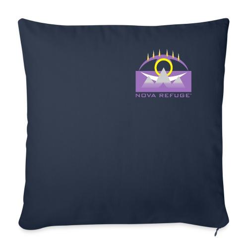 Nova Refuge Yavakaro Badge Men's T-Shirt - Throw Pillow Cover