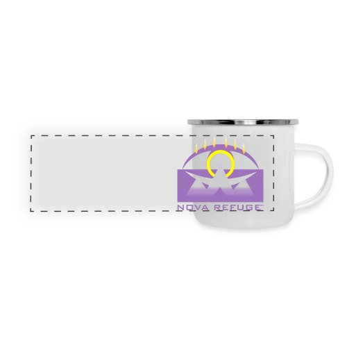 Nova Refuge Yavakaro Badge Men's T-Shirt - Panoramic Camper Mug