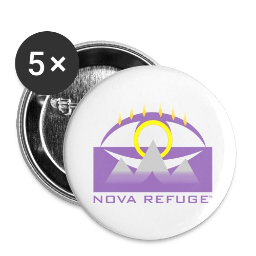 Nova Refuge Yavakaro Badge Men's T-Shirt - Small Buttons