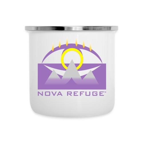 Nova Refuge Yavakaro Badge Men's T-Shirt - Camper Mug