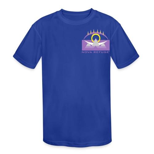 Nova Refuge Yavakaro Badge Men's T-Shirt - Kid's Moisture Wicking Performance T-Shirt