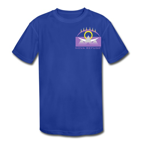 Nova Refuge Yavakaro Badge Men's T-Shirt - Kids' Moisture Wicking Performance T-Shirt