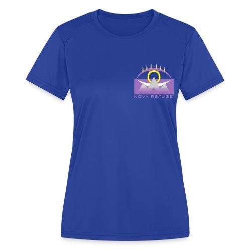 Nova Refuge Yavakaro Badge Men's T-Shirt - Women's Moisture Wicking Performance T-Shirt