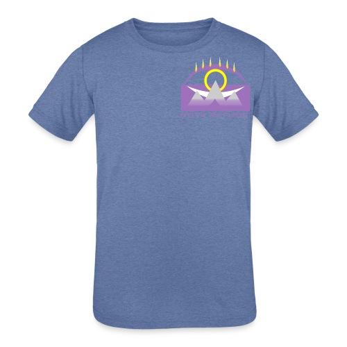 Nova Refuge Yavakaro Badge Men's T-Shirt - Kid's Tri-Blend T-Shirt