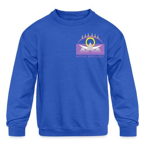 Nova Refuge Yavakaro Badge Men's T-Shirt - Kid's Crewneck Sweatshirt