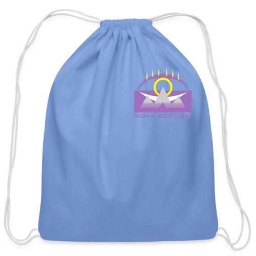 Nova Refuge Yavakaro Badge Men's T-Shirt - Cotton Drawstring Bag