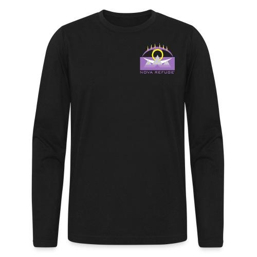 Nova Refuge Yavakaro Badge Men's T-Shirt - Men's Long Sleeve T-Shirt by Next Level